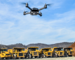 drones and the mining industry, a love affair