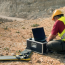 Drone aerial imagery for mines and quarries